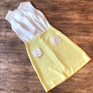 Vintage 69s mod dress